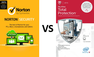 McAfee vs Norton Internet Security