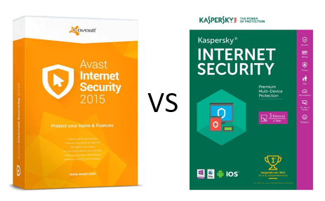 kaspersky vs avast internet security