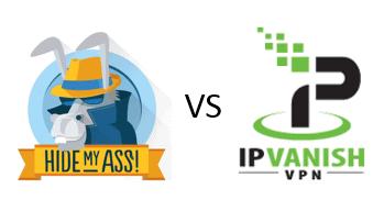 IPVanish vs HideMyAss