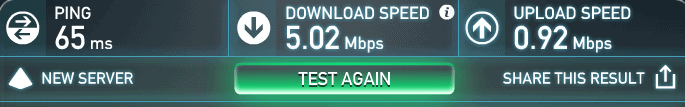 expressvpn-speed-test