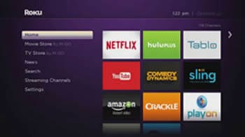 Roku User Menu