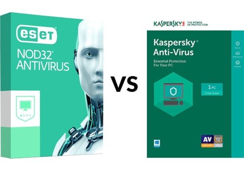 Another Antivirus Battle Eset Vs Kaspersky Which Works