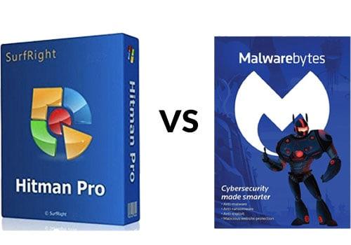 Hitman Pro vs Malwarebytes