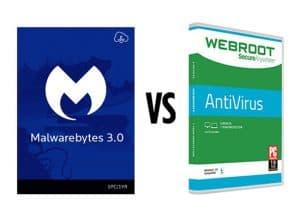 Malwarebytes Versus Webroot