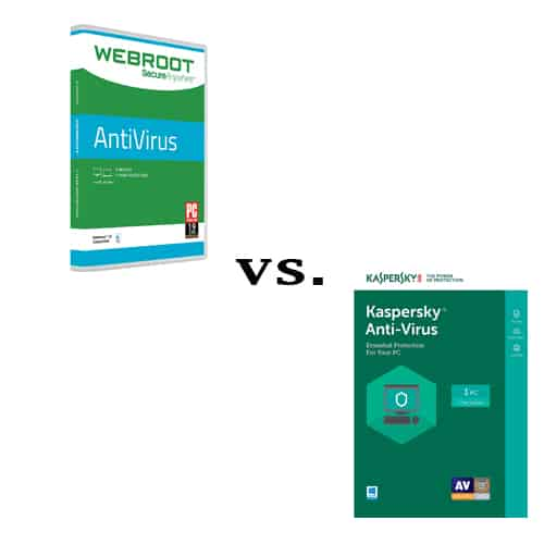Webroot vs Kaspersky Compared - Which Security Solution is