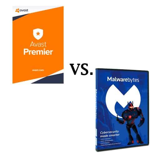 MalwareBytes Versus Avast