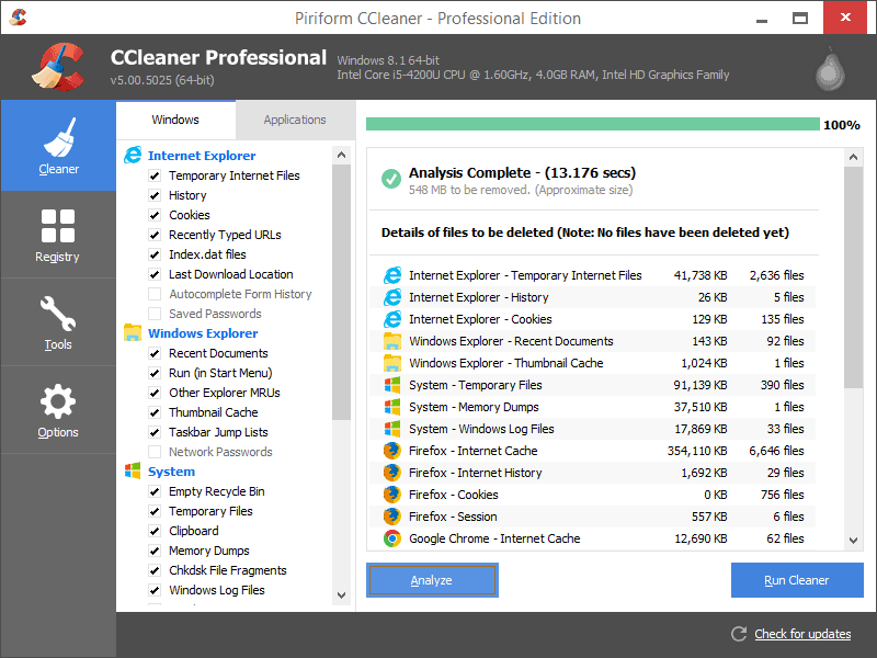 ccleaner features