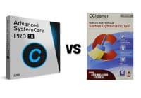 Advanced System Care vs CCleaner