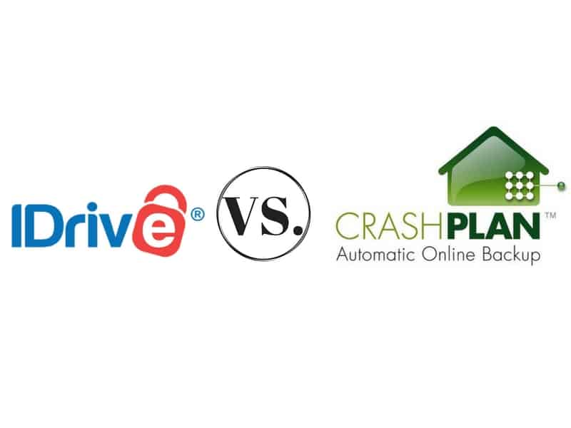 iDrive vs Crashplan