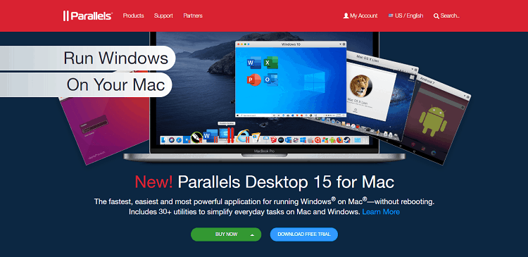 parallels features