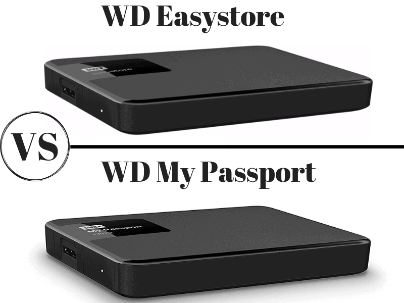 WD Easystore vs My Passport Compared: Which is The Better Portable