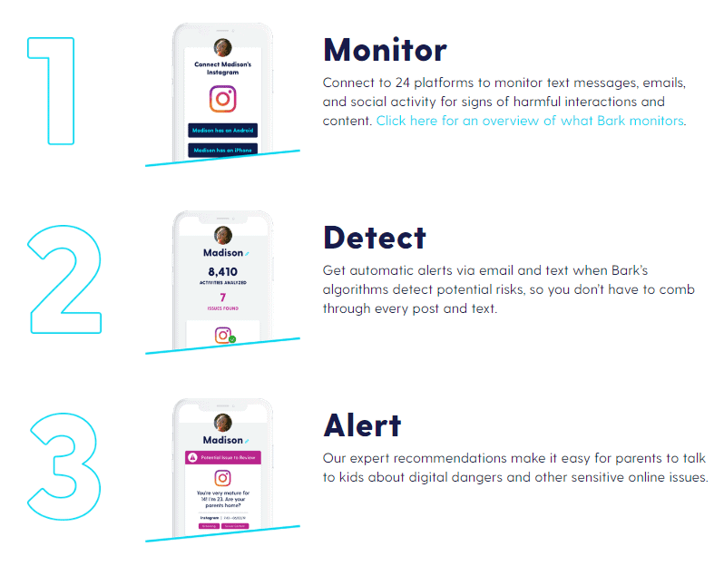 monitor detect alert parental control