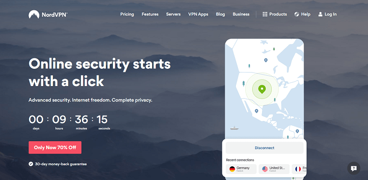 nordvpn vpn features