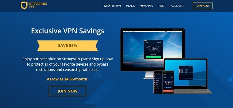 strongvpn review