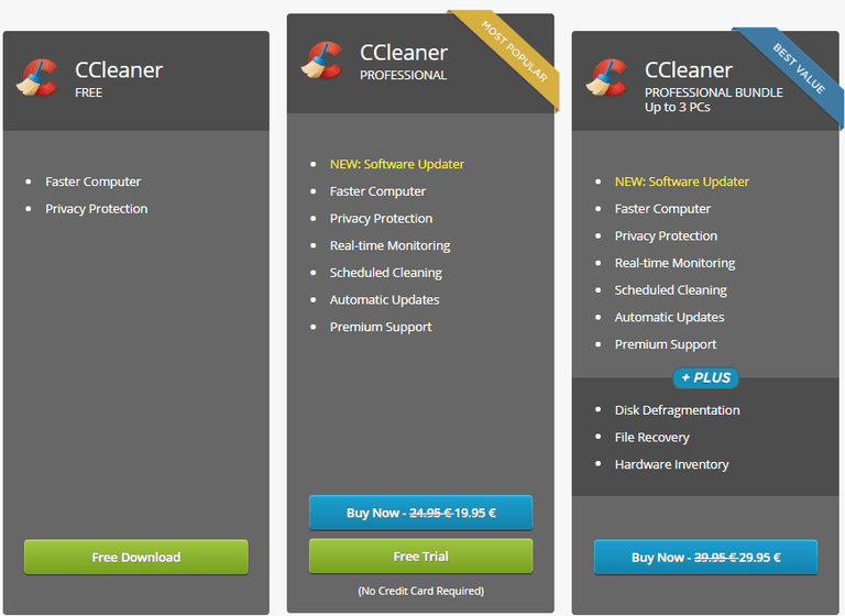 ccleaner pricing