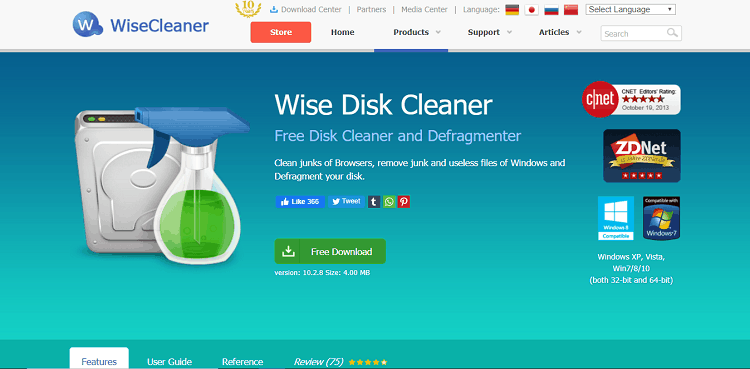 wise desk cleaner review