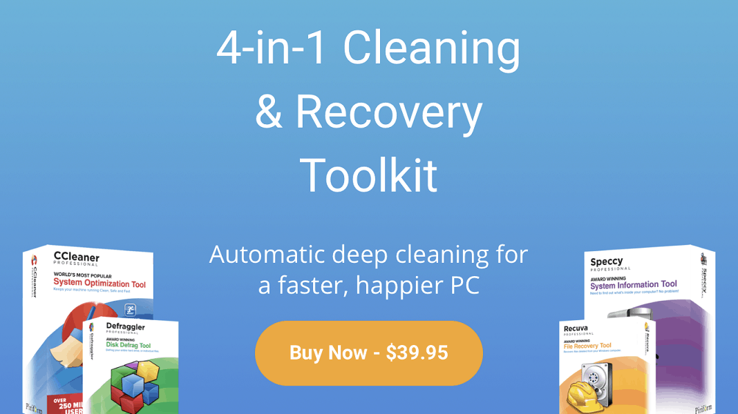 ccleaner 4 in 1 toolkit