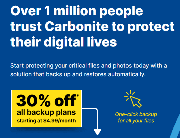Why Go With Carbonite?